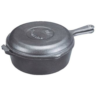 46% Off Captain stag Dutch oven コンボクッカー 25 cm lid turns into a frying pan! M-5534 05P18Oct13 points 5 times!