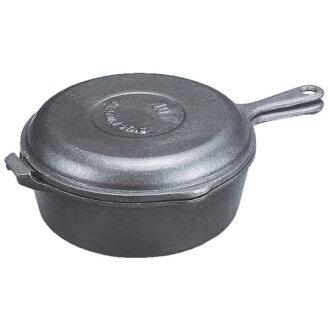 船長鹿荷蘭烤箱 convokcker 25 釐米蓋子變成煎鍋! M-5534