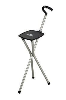 隊長雄鹿鋁智慧三腳架椅子 (槍金屬) UC-1542年光和智慧的設計。 稍微休息一下