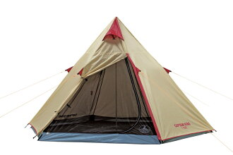 Captain stag aluminum one pole tent 300UV UA-16 teepee type one pole tent 300*250* 180mm in height