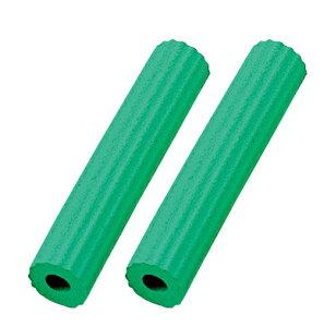 日本製 スポンジハンドル S-4 二個入り直径18(穴径8.5)×長さ95mmスプーンやボールペン、歯ブラシにも取り付け可能、握力弱い子供やお年寄りにネコポスのため日時指定不可【沖縄・離