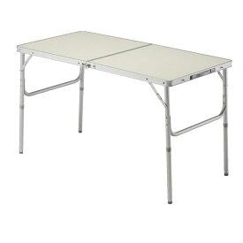 BUNDOK アルミ FD テーブル M 2WAY [5-6人用] BD-244高さ2通りのテーブル!1200×600×400/705mm