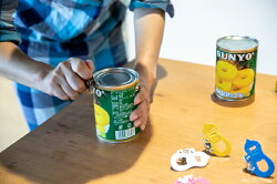 【安心の日本製】【ネコポス可能】8/24発送開始!Z缶切村の鍛冶屋×プリンス工業60年以上のロングセラーZ缶切を鍛造ペグと同じ色にしました!未来を開く試験のお守りとしても使えますレトロかわいい缶切りです