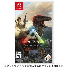 ソフト版 ARK: Survival Evolved Nintendo Switch ニンテンドー スイッチ アーク サバイバル エボルブド 日本語対応 輸入Ver.