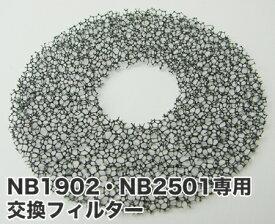 【 NB1902・NB2501共用 交換用フィルター 】【 2枚組 】ノビー ※NB3000・NB1903・NB2503には使用できません【ドライヤーパーツ】|単品は20点までヤマトのネコポス(メール便)・その他同梱は宅配便