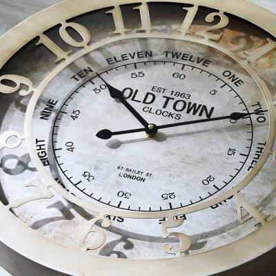 ウォールクロックピネイロ送料無料おしゃれ北欧壁掛けかけ時計シンプルかわいいメンズレディースインテリアガラスアンティークかわいい男前壁掛け時計掛け時計置き時計掛時計時計インテリア雑貨雑貨ガラス秒針なしシンプル