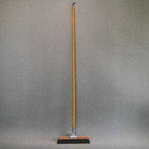 自在箒30cm  自在ほうき フロアホーキ ホウキ 木柄 長柄 長さ130cm 幅30cm 床 学校 業務用 フロアホーキ 清掃用品 掃除道具 エコ