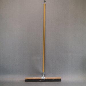 自在ほうき 60cm  自在箒 フロアホーキ ホウキ 木柄 長柄 長さ130cm 幅60cm 床 学校 業務用 フロアホーキ 清掃用品 掃除道具 エコ