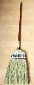 座敷箒 11玉長柄  座敷ほうき 座敷ホーキ 和ホウキ 手編み 和室 畳 床 長柄 長さ140cm 清掃用品 掃除道具 エコ