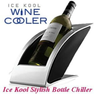 Ice cool (wine bottle cooler)
