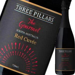 スリーピラーズ・ザ・グルメ・スパークリング・レッド・キュヴェ|スパークリング ワイン オーストラリア 結婚祝い スパークリングワイン 還暦祝い 女性 内祝い お酒 ギフト 出産内祝い わ