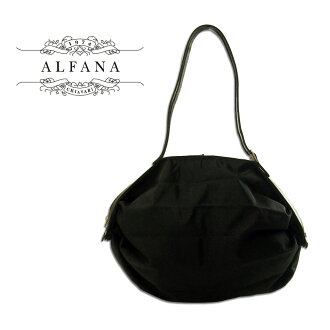 Made in Italy ALFANA / アルファーナ POP CORN58 / popcorn 58 black (65580009 ) foldable bag """"