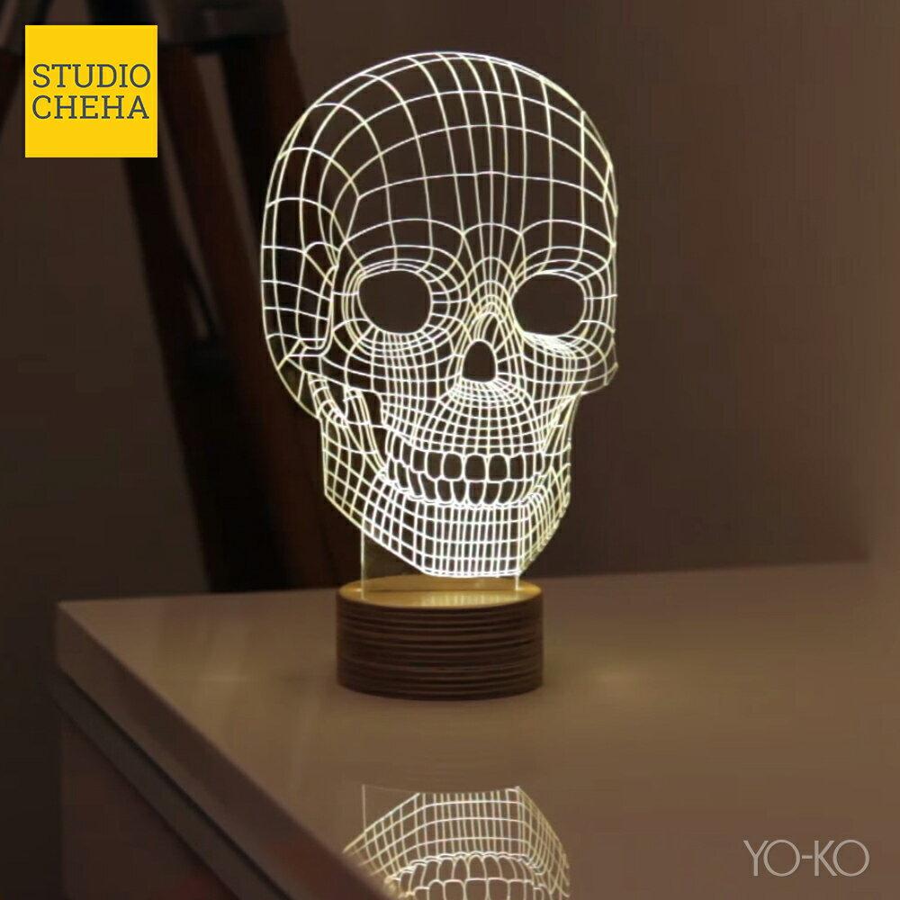 【ポイント20倍】BULBING SKULL LAMP スカルランプ スカル バルビングランプ STUDIO CHEHA LEDスタンドライト インテリア 照明 テーブルランプ ナイトライト インテリアランプ NHK まちかど情報室 あす楽