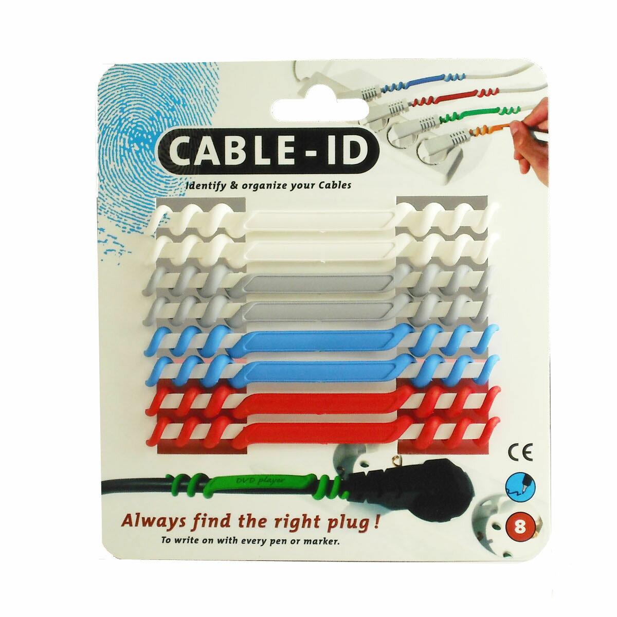 【ポイント20倍】CABLE-IDケーブルアイディー(792001-ブルーパッケージ)コード管理・ケーブルタグ・オランダ製 あす楽