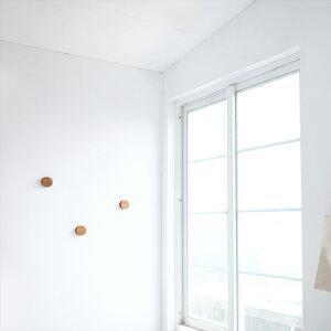 【ポイント10倍】gudeelifeRANバンブーラウンドフックNatural/DarkBrown竹天然木製丸おしゃれコートウォールハンガーバンブーgudee