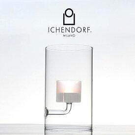 P10倍 / ICHENDORF MILANO TEA LIGHT CANDLE Frost ティーライト キャンドルホルダー フロスト ガラス 半透明 シンプル おしゃれ 業務用 ギフト キャンドルスタンド イタリア イッケンドルフ