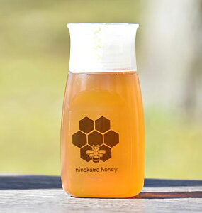 MINOKAMO HONEY 百花蜜 300g 生はちみつ 100% 純粋 チューブ式プラ容器詰め 美濃加茂ハニー 蜂屋のはちみつ