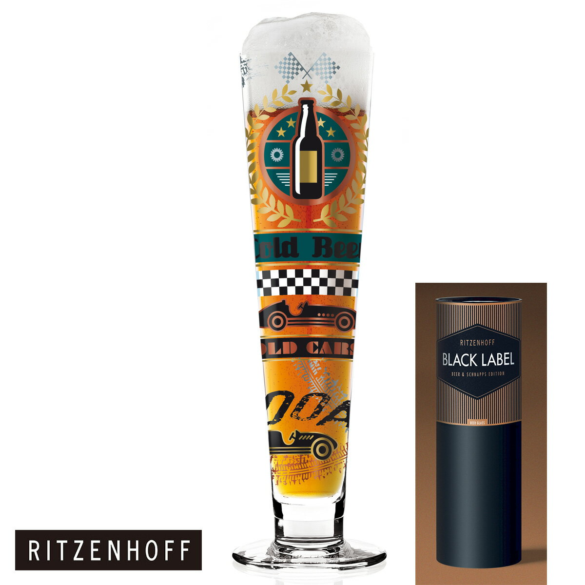 【ポイント20倍】RITZENHOFF リッツェンホフ Beer Crystal Collection ビアグラス(Thomas Marutsuchke-81010229) ビールグラス ビア グラス ビール プレゼント・贈り物・ギフト・