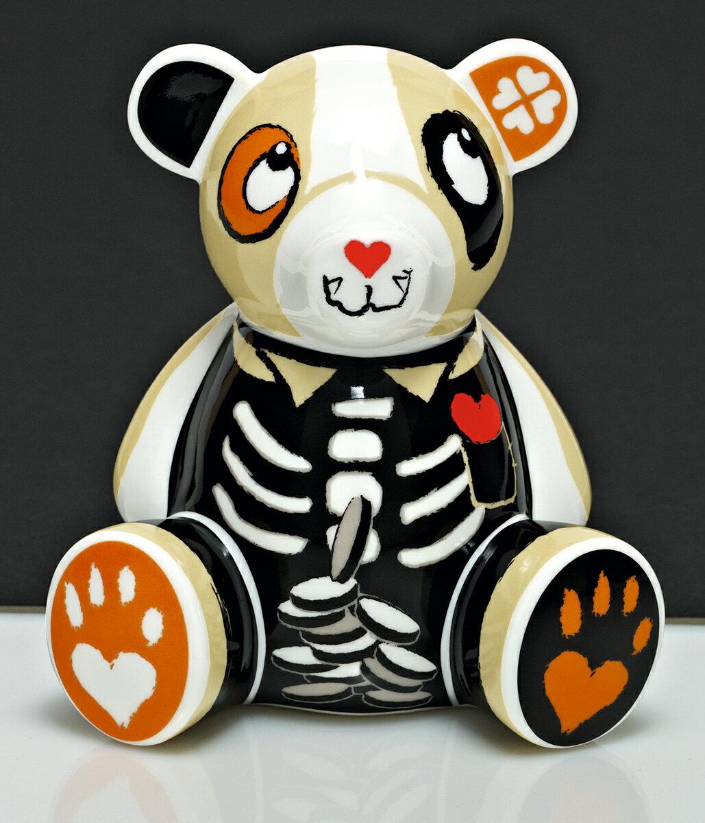 【ポイント20倍】RITZENHOFF リッツェンホフ (Petra Mohr)Teddy BankCOLLECTION テディバンク・コレクション 貯金箱 500円玉 おしゃれ おもしろ かわいい クマ プレゼント 贈り物 ギフト【限定数】・ホワイトデー