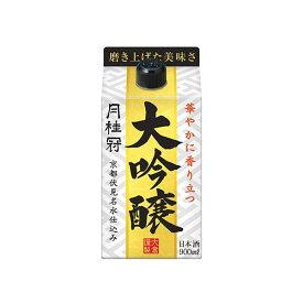 月桂冠 大吟醸 [パック] 900ml x 6本[ケース販売][月桂冠/日本/清酒/日本酒/15度/やや辛口/やや淡麗]