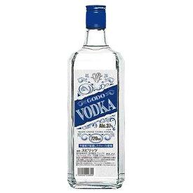 合同 CODO ウォッカ 37度 [瓶] 720ml x 12本[ケース販売][合同酒精/オノエン/スピリッツ/日本/128376]