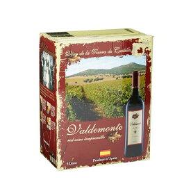 バルデモンテ レッド BIB [紙パック] 3L 3000ml 送料無料(本州のみ) [TK スペイン 赤ワイン 411773] 母の日 父の日 ギフト