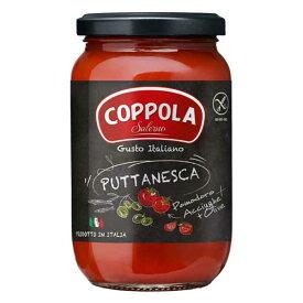 コッポラ プッタネスカ ソース [瓶] 350g x 12本[ケース販売][メモス/食品/イタリア/トマト製品/632-804]【キャンセル・返品不可】