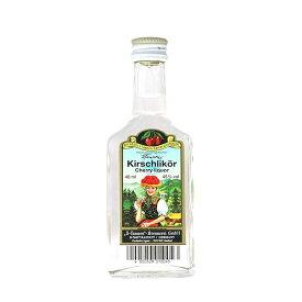 3−タンネン ドイツ キルシュ 45度 [瓶] 40ml x 48本[ケース販売][ドーバー洋酒 ブランデー ドイツ 8040205] 母の日 父の日 ギフト