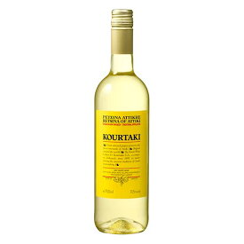 クルタキス レッチーナ オブ アッティカ 750ml[メルシャン ギリシャ パトラ 白ワイン 辛口 422228]