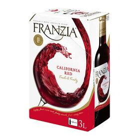 フランジア 赤 BIB [紙パック] 3L 3000ml x 4本[ケース販売][メルシャン アメリカ カリフォルニア 赤ワイン ライトボディ 418064] 母の日 父の日 ギフト