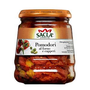 サクラ プラムトマトのアル フォルノ ケッパー [瓶] 285g x 6個[ケース販売][モンテ イタリア パスタソース 005282] 母の日 父の日 ギフト