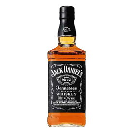 ジャックダニエル ブラック 40度 正規品 700ml x 12本[ケース販売] あす楽対応 [Jack Daniel's][アサヒ アメリカ テネシー バーボン ウイスキー]