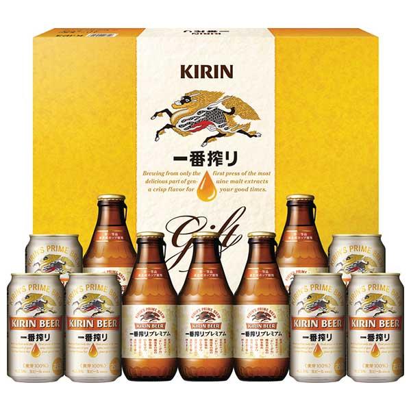 お歳暮 ビール K-IP3 キリン 一番搾り ビールセット 御歳暮 ギフト