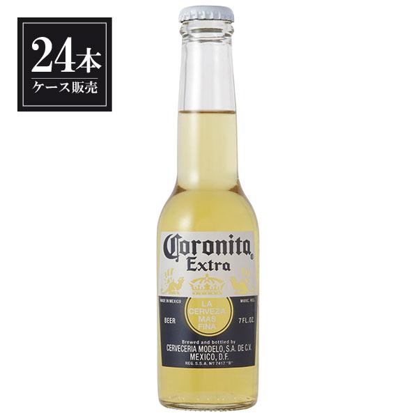 【ポイント2倍】コロニータ ビール エキストラ 207ml x 24本 あす楽対応 [ケース販売][2ケースまで同梱可能][メキシコ/コロナビール/CORONA]