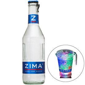 【オリジナルLEDピッチャー付き】ZIMA ジーマ 瓶 275ml x 24本 送料無料※(本州のみ) あす楽対応 [ケース販売] [同梱不可] [ギフト不可/モルソンクアーズ]【母の日】