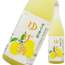 すてきなゆず酒 1.8L 1800ml [麻原酒造/埼玉県] 果実酒【お中元】
