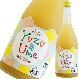 彩の国 柚子梅酒 720ml [麻原酒造/埼玉県] 果実酒 送料無料※(本州のみ)