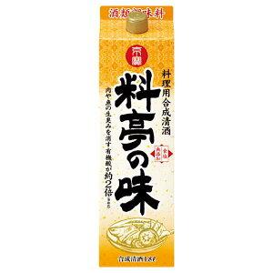 京寶 料亭の味 12度 [紙パック] 1.8L 1800ml x 6本 [ケース販売][宝酒造/日本]