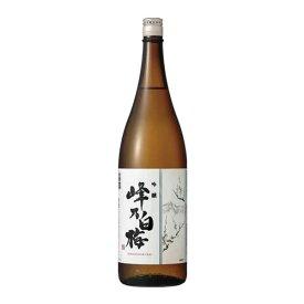 【10%OFF】峰乃白梅 吟醸 1.8L 1800ml [OKN/峰乃白梅酒造/新潟県]