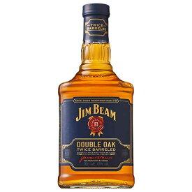 ジムビーム ダブルオーク 43度 700ml [JIM BEAM][アサヒ アメリカ ケンタッキー バーボン ウイスキー] 母の日 父の日 ギフト