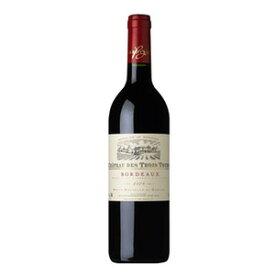 シャトー デ トロワ トゥール 750ml x 12本 [ケース販売][アサヒ/フランス/ボルドー/ミディアムボディ/赤ワイン]