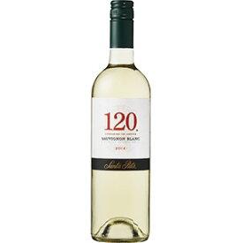 【限定割引クーポン配布中】120(シェント ベインテ)ソーヴィニヨン ブラン 750ml [チリ/白ワイン] 送料無料※(本州のみ) [サッポロ]