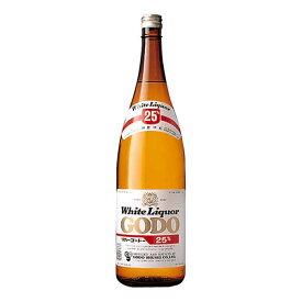 合同 ゴードー 25度 [瓶] 1.8L 1800ml x 6本[ケース販売][合同酒精/オノエン/焼酎甲類/日本/113779]【母の日】