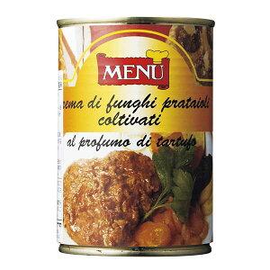 メニュー キノコペースト トリュフ風味 [缶] 400g x 12個[ケース販売][モンテ イタリア 野菜(瓶詰) 015006] 母の日 父の日 ギフト
