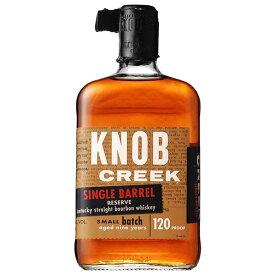 ノブ クリーク シングルバレル 60度 [瓶] 750ml x 6本[ケース販売][ウイスキー/60度/アメリカ/サントリー]【母の日】
