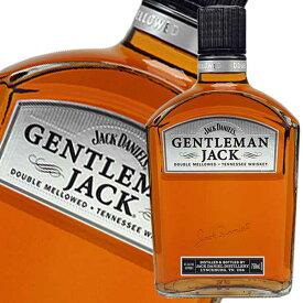 ジェントルマンジャック 40度 750ml 正規品 ジャックダニエル [Jack Daniel's/アメリカ/ジャック/アサヒ]【母の日】