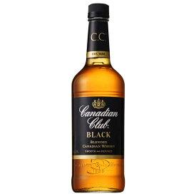 カナディアンクラブ ブラックラベル 40度 [瓶] 700ml x 12本[ケース販売][ウイスキー/40度/カナダ/サントリー]
