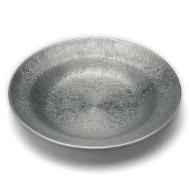 錫器:錫器・錫段付茶托・小・ゆり工房《茶托》