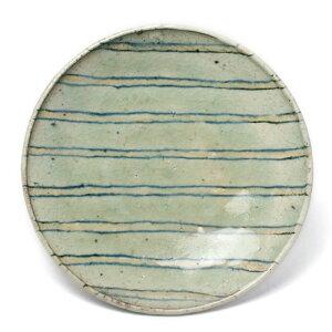 縞7寸皿・杉本太郎