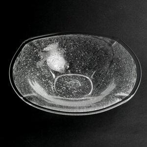 泡角皿・福地ガラス工房